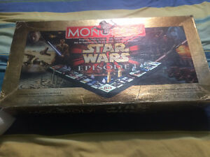Star Wars Episode 1 Monopoly