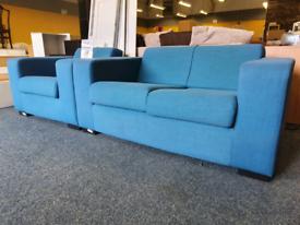Modern set in electric blue £140