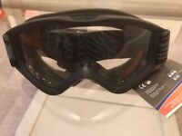 Uvex Speedy Pro Anti fog clear smoke goggles