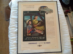 OLD CHEVY CLASSIC CAR ADS Windsor Region Ontario image 6