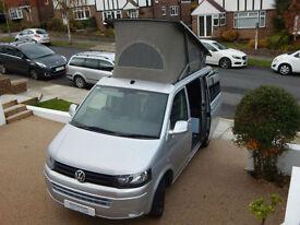 Volkswagen Transporter T28 Diesel Campervan 4 Berth 5 Seatbelts Electric Pop Top