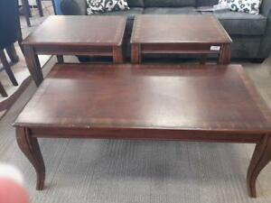 *** USED *** ASHLEY MATTIE COFFEE/END TABLES   S/N:51129436   #STORE545