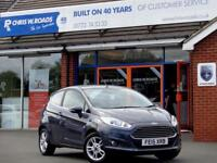 2015 15 FORD FIESTA 1.0 ZETEC 3DR *ONLY 7954 MILES*