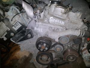 2012 Toyota sienna engine