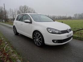 2010 White Volkswagen Golf 2.0TDI GT **GTD ALLOY WHEELS**DIESEL**GOOD SPEC**
