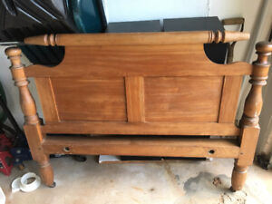 Antique pine bed for sale