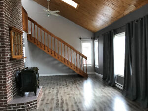 Available immediately, unique 3 bed 2 bath house in Gander