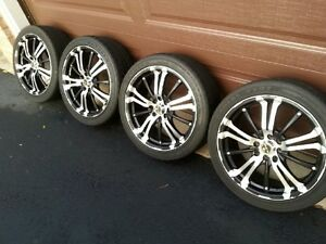 """17"""" RTX Scorpion Series Rims with Tires"""