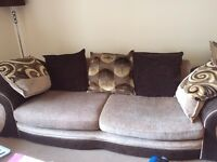 DFS 4-seater sofa/lounger