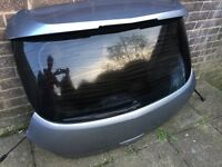 Corsa d boot with spoiler