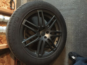 Tire and rims audi q5