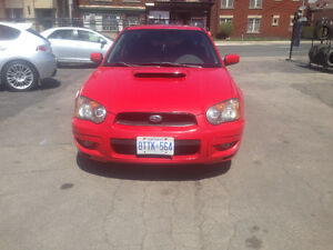 2004 Subaru WRX Turbo