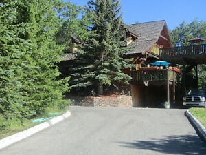 BEAUTIFUL CHALET STLYE LOG HOUSE IN BEAVER MINES - REDUCED