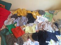 Huge bundle of baby boy clothes from 0-3m to 18-24m
