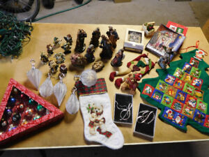 Christmas decoration - NEW and used - over 100 pices
