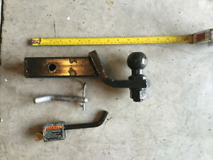 Hitch-2 inch with 2 inch ball and lock class 3 towing