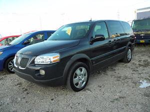 2008 Pontiac Montana SV6 EXT Minivan, Van
