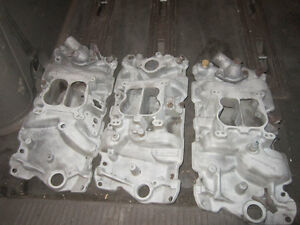 Holley Carbs and Chevrolet Performance Intake - Garage Clean out