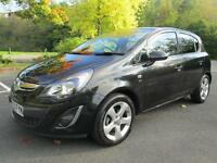 13/63 VAUXHALL CORSA 1.2 SXI 5DR HATCH IN MET BLACK WITH ONLY 21,000 MILES