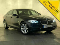 2016 BMW 520D SE AUTO SAT NAV LEATHER HEATED SEATS 1 OWNER SERVICE HISTORY