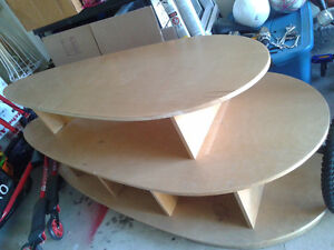 Double deck Table.  Can be separated and used as two tables. Oakville / Halton Region Toronto (GTA) image 3