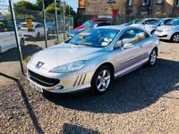 Peugeot 407 2.2 coupe 06 reg low mileage immaculate condition px welcome