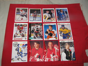 Over 60 Hockey Rookie cards from the early 1990s*