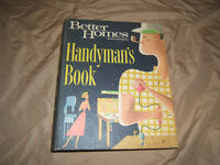 Vintage Carpentry Handyman Books