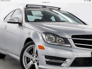 "2014 Mercedes Benz C 350 4 matic ""Coupe"""