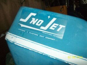 cariole antique sno-jet 1969-1970