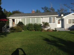 Furnished Waterfront House for Rent, St. Margaret's Bay