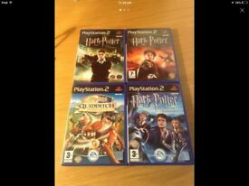 Harry Potter PS2 Games Collection x4