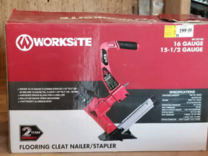Flooring cleat  nailer/stapler
