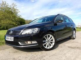 Volkswagen Passat 2.0TDI BlueMotion EXECUTIVE 2014 Black Diesel Estate Manual
