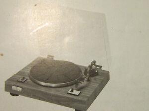 Vintage Sears professional series model 28670 with pair speakers