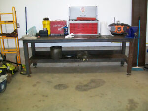New all steel work bench/welding table