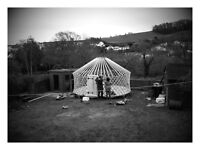 16' yurt with base