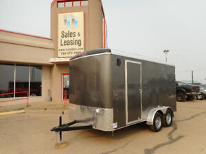 2018 TNT 7x14ft Side'x'Side Enclosed Trailer w/Ramp $8499