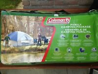 Coleman Family Camping Package
