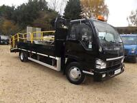 2008 Isuzu Truck NQR RECOVERY- DROPSIDE - PLANT Hydraulic Ramp - 7.5 TON