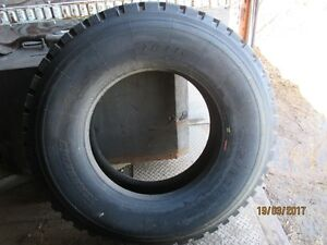 NEW;Semi tires,315/80 R22.5 Double Coin R99 tires. Moose Jaw Regina Area image 9