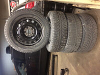 205/60/R16 Winter Tires on Rims in very good condition