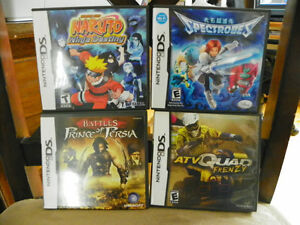 5 ASSORTED DS GAMES