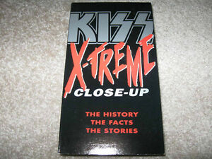 Kiss-Extreme Close-Up VHS