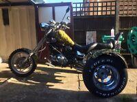 Yamaha virago 1100 trike