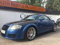 2002 02 AUDI TT COUPE 1.8T 225BHP QUATTRO MODIFIED ONLY 85K FSH BLUE