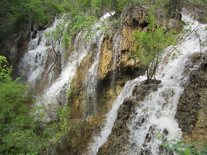 Own one of the only waterfalls in the South Okanagan