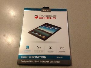 Invisible shield HD for ipad 2, 3rd, 4th generation from ZAGG West Island Greater Montréal image 1