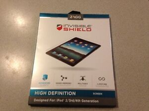 Invisible shield HD for ipad 2, 3rd, 4th generation from ZAGG