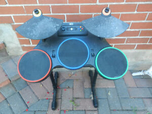 Drum set for an x-box